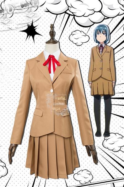 ヒナまつり コスプレ 新田ヒナ コスプレ 衣装 制服 新品 コスチューム cosplay 服 超能力者 バスタオル