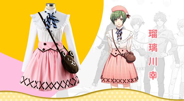 A3!エースリー 夏組 瑠璃川幸 コスプレ衣装